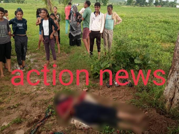गांव में गिरी आकाशीय आफत, खेत मे काम रही महिला की मौत