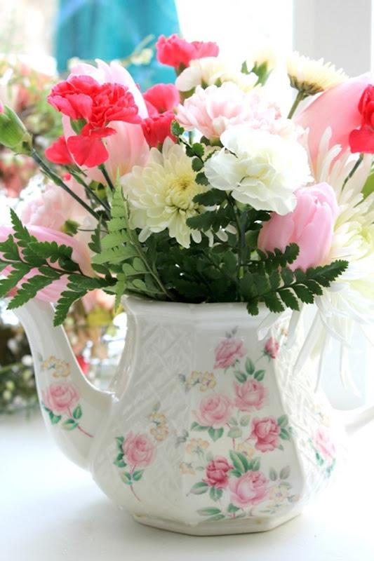 flower re-arranging beautiful