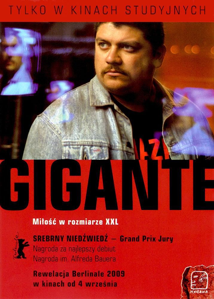 Ulotka filmu 'Gigante (przód)'