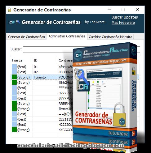 Generador de Contraseñas 1.3