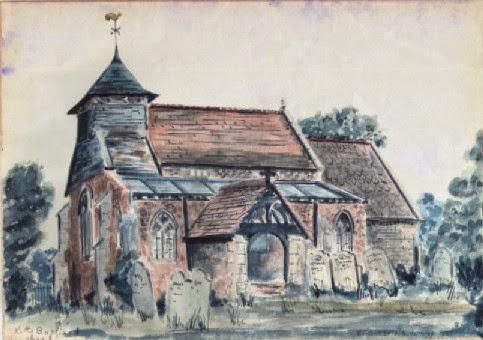 St John The Baptist Woodhurst - paintinga.jpg