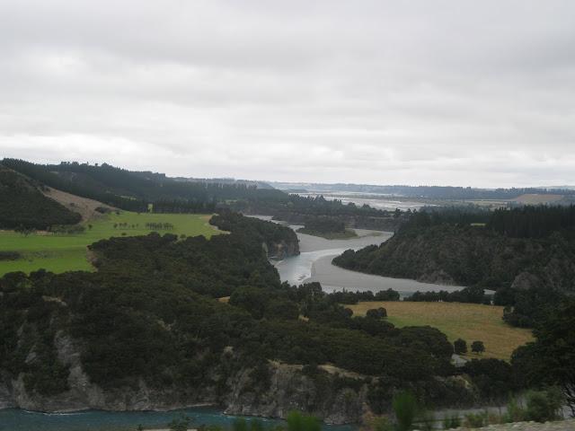 New Zealand - on the TranzAlpine Train
