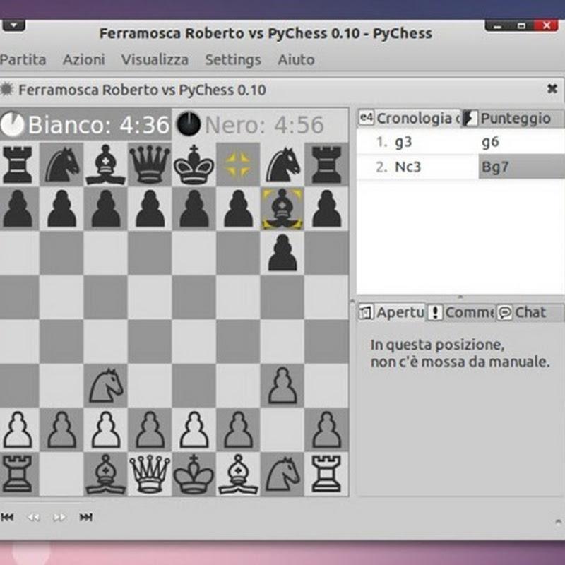 PyChess uno dei migliori Giochi di Scacchi per Linux