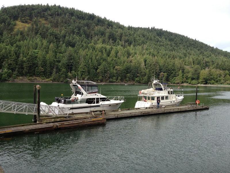 Shanks and Thomas boat at Reid Harbor Stuart