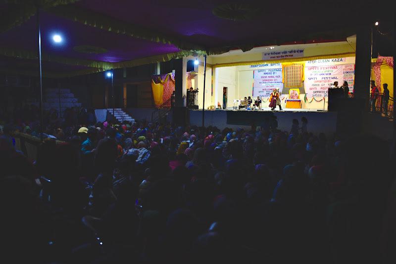La Spiti Festival, cu traditii tibetane ce parea uneori greu de inteles.
