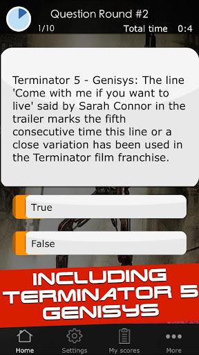 Quiz for the Terminator Movies 1 screenshots 7