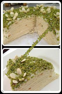 amonyaklı pastayı kabartma tozu ile  yapabilirsiniz