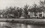 Nw.Amsterdam. Zijtijk o.z met Boerenleenbank - Spaarbank. Gelopen gestempeld in 1985.
