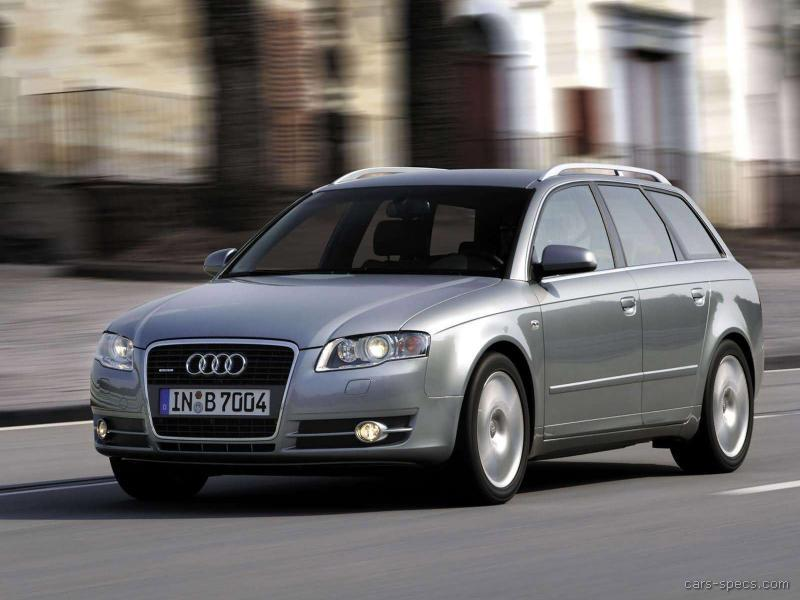 Audi A Wagon Specifications Pictures Prices - 2007 audi a4 specs