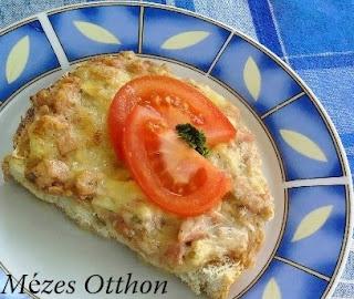 májkrémes melegszendvicskrém reggelire fotó