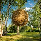 """Карін ван дер Молен """"Місячний"""", Kyiv Sculpture Project 2012. Фото: Андрій Горб"""