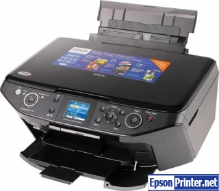 How to reset Epson RX615 printer