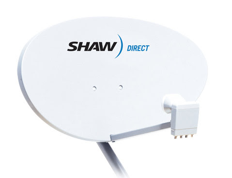 how to connect shaw satellite