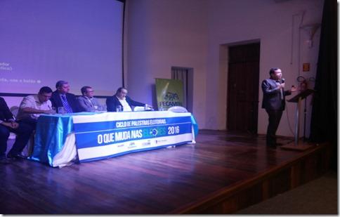 Ciclo de palestras eleitorais 'O que muda nas eleições 2016' foi realizado em Assú