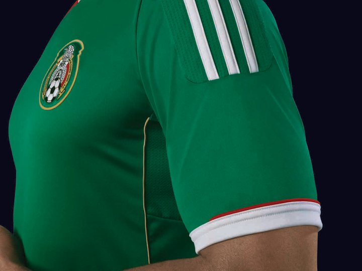 606a3e3d8 The new Mexico kits will be used for the first times when El Tri meets  Paraguay in Oakland