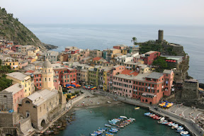 Vernazza and its harbour