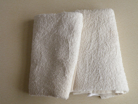 白くなったタオル