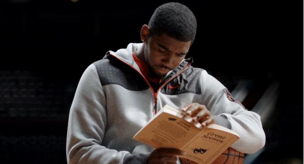 Kyrie Irving With Some Serious Hang Time In New Foot Locker Commercial
