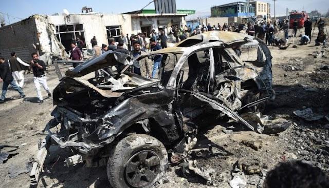 13 Die During Multiple Bus Bombings In Afghanistan
