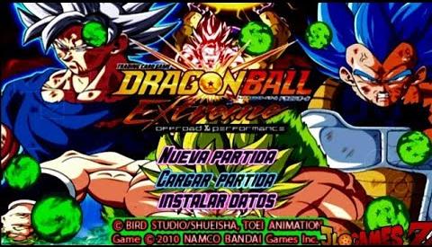 NOVO MOD DRAGON BALL Z SUPER TENKAICHI TAG TEAM V6 + MENU EDITADO PARA CELULARES ANDROID E PC PPSSPP