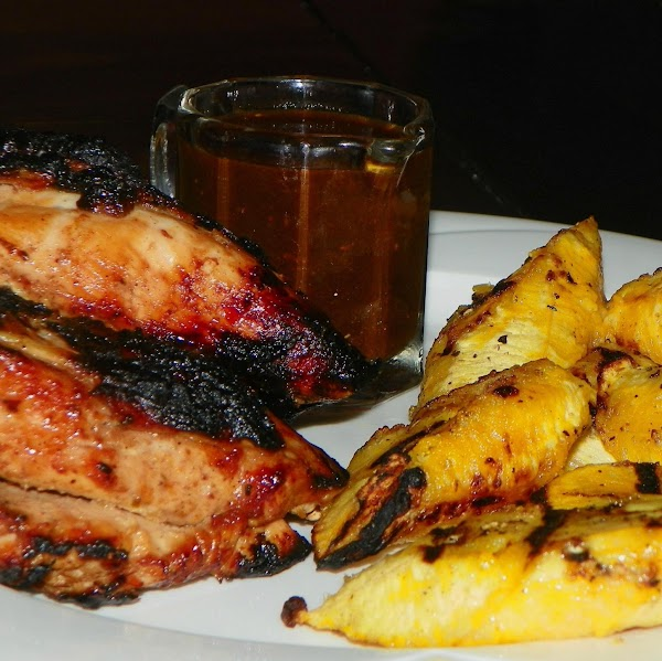 Grilled Chicken And Plaintains, Jamaican-style Recipe