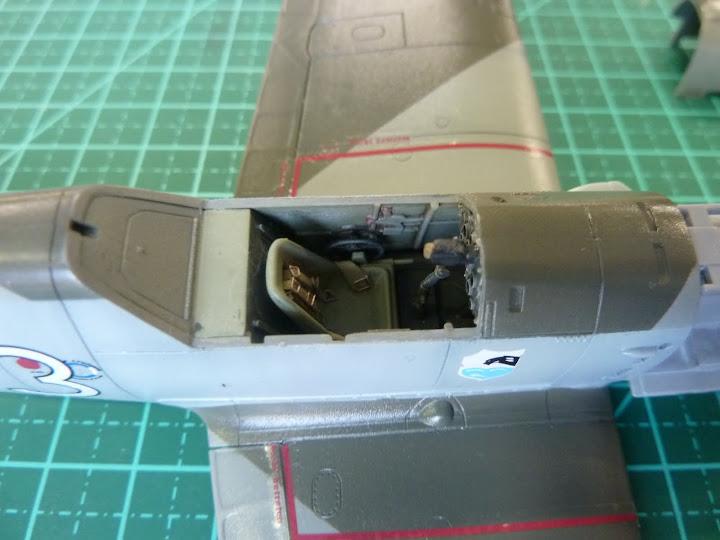 Bf-109 E-3 Tamiya 1/48 - Reforma pintura P1020507