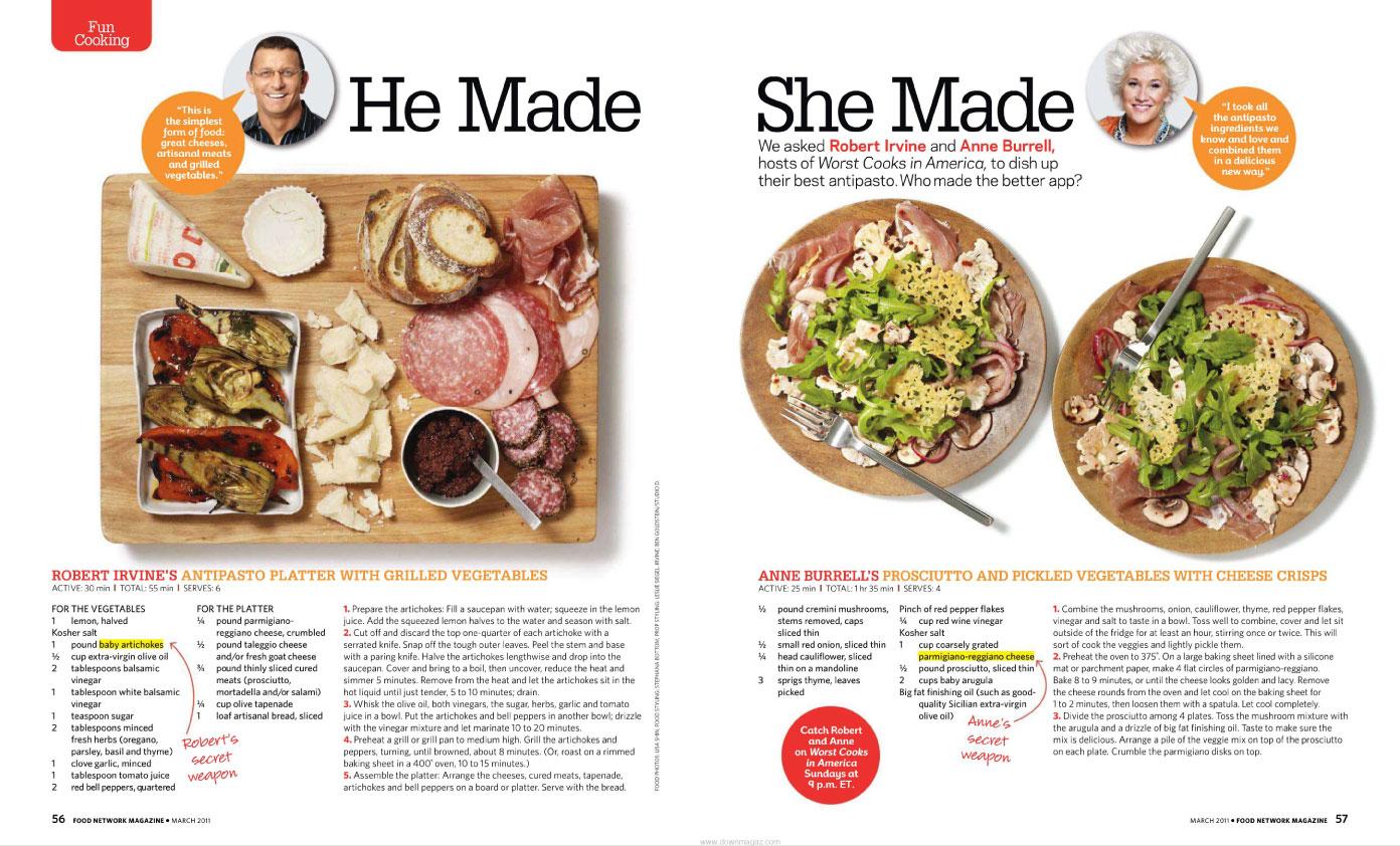 Marnie rose agency food network magazine food network magazine forumfinder Gallery