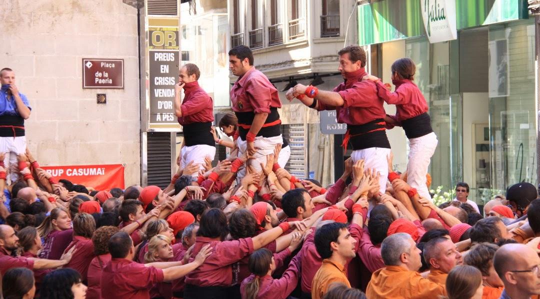XII Trobada de Colles de lEix, Lleida 19-09-10 - 20100919_176_Vd5_CdL_Colles_Eix_Actuacio.jpg