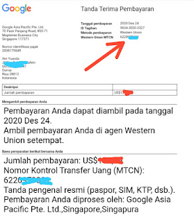 Ambil Uang lewat Western Union Di Kantor Pos Indonesia