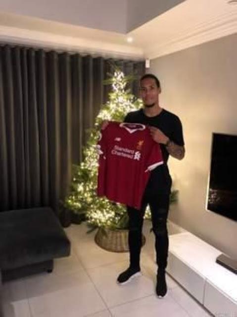 Liverpool beat Manchester City to the record £75m Virgil van Dijk signing
