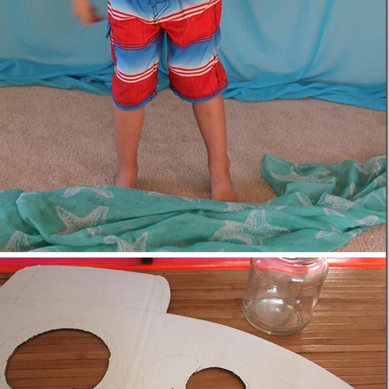 Disfraz casero de submarino  para escolares