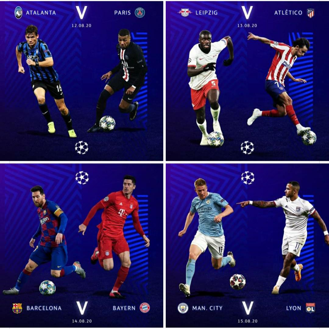 Bocoran Bola Liga Champions Semifinal 2020