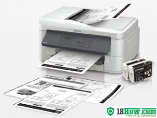 How to Reset Epson K300 printing device – Reset flashing lights error