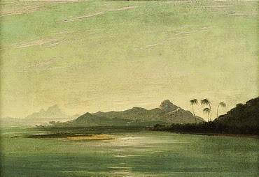 View of the Islands of Otaha (Taaha) and Bola Bola (Bora Bora) with Part of the Island of Ulietea (Raiatea) - William Hodges