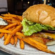 Junior Cheddar Burger