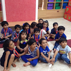 Blue Day Celebration by Nursery at Witty World (2015-16)