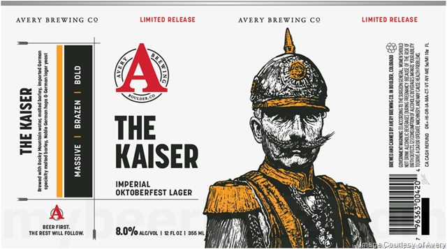 Avery Brewing - The Kaiser Returns
