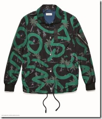 Coach x Keith Haring Coach's Jacket in Keith Haring Black Hula (29604)