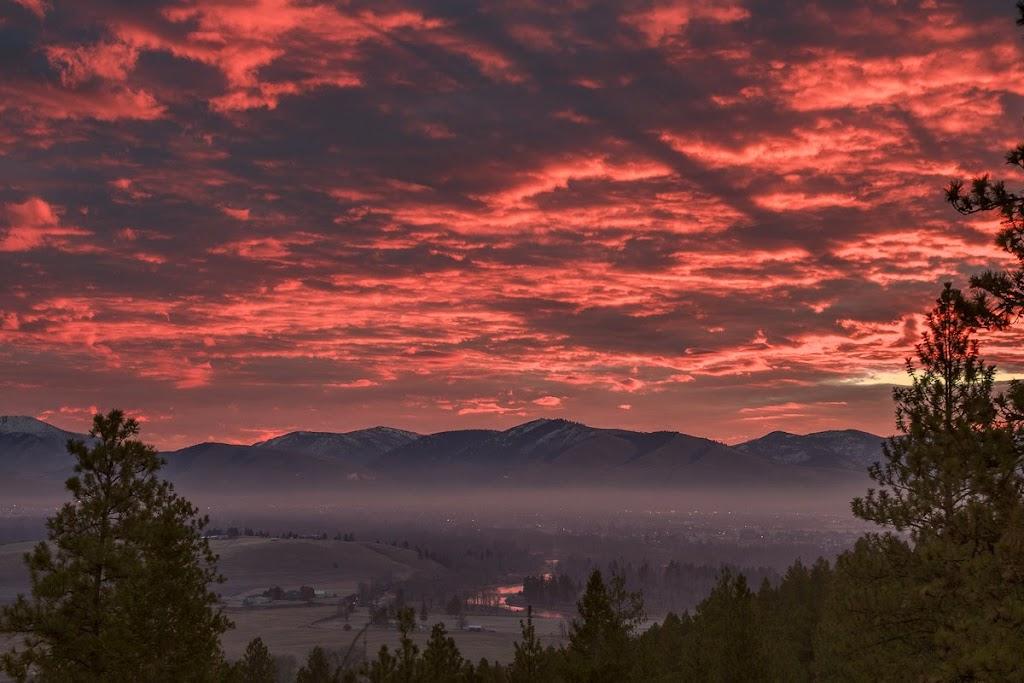 7:30 A.M, Missoula, Montana - taken near Big Flat on 11/18/12. ©Mark Mesenko. Prints available at www.mesenko.com