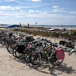IJmuiden beach in Velsen, Noord Holland, Netherlands
