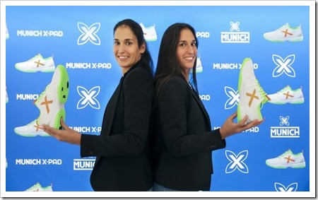 MUNICH firma a las GEMELAS ATÓMIKAS, apostando por el ranking top del pádel mundial.