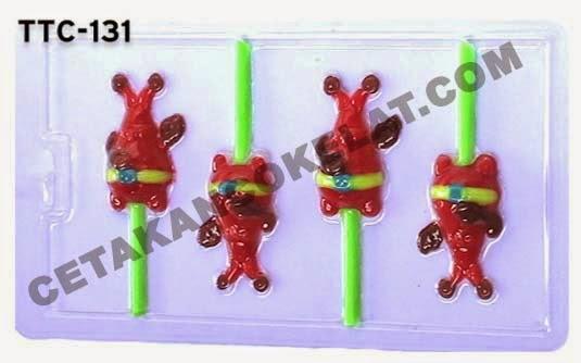 TTC131 Cetakan coklat spongebob Mr.Crab Crab