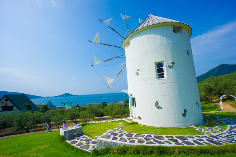 Shodoshima Olive Park, Greek windmill 7