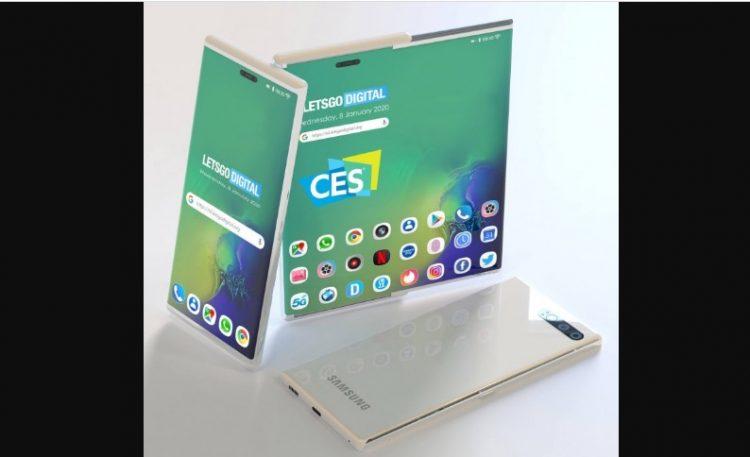 Teknologi layar gulung Samsung, bikin penasaran aja!