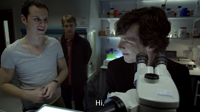 Jim, Watson and Holmes