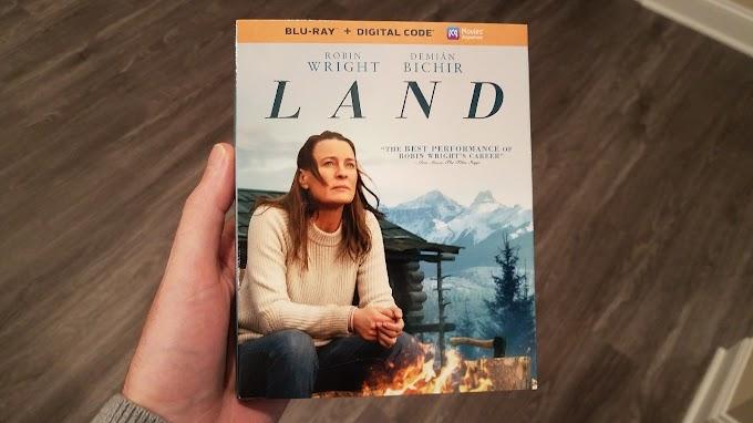 Watching Land Blu-ray Tonight.
