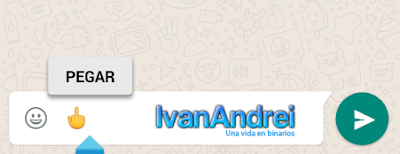 Emoji dedo medio en WhatsApp (Android)