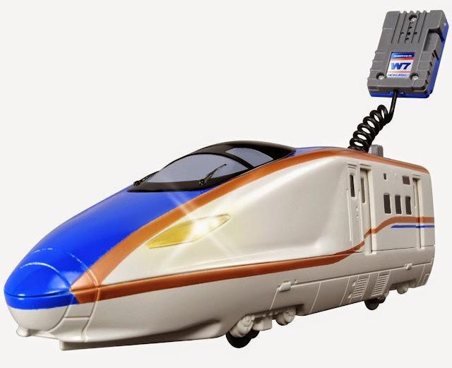 Đồ chơi tàu hỏa BS-03 W7 Kagayaki