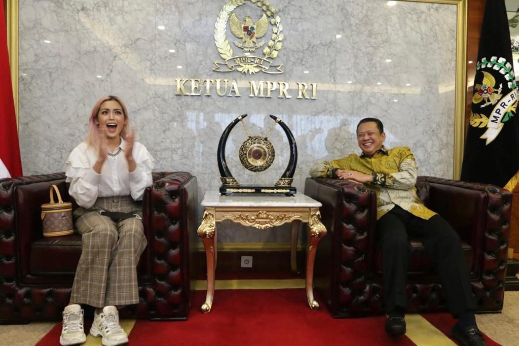 Ketua MPR RI Bamsoet Gandeng Artis Sosialisasikan Empat Pilar MPR RI