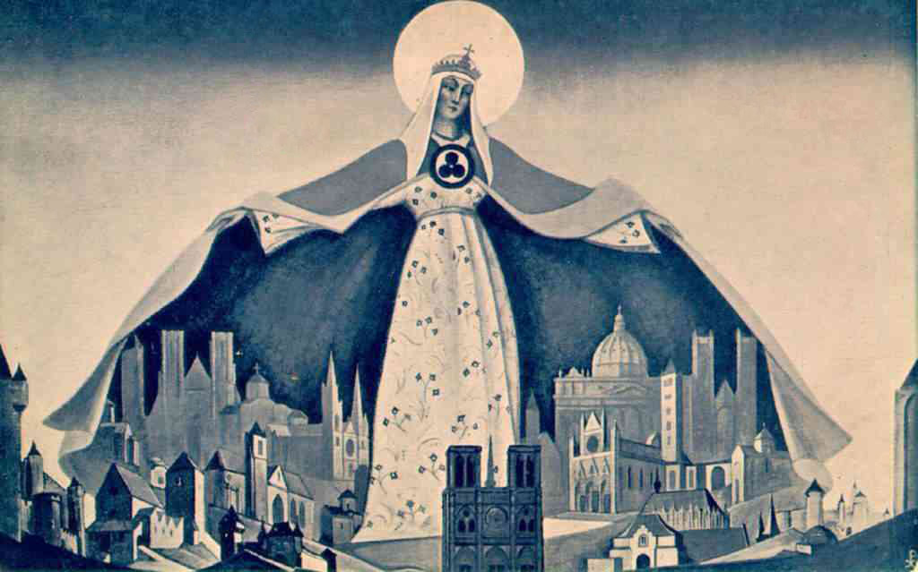 Nicholas Roerich - Madonna Protectoris